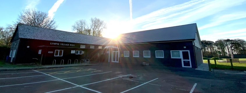 Lympne Village Hall and New Harry Margary Hall