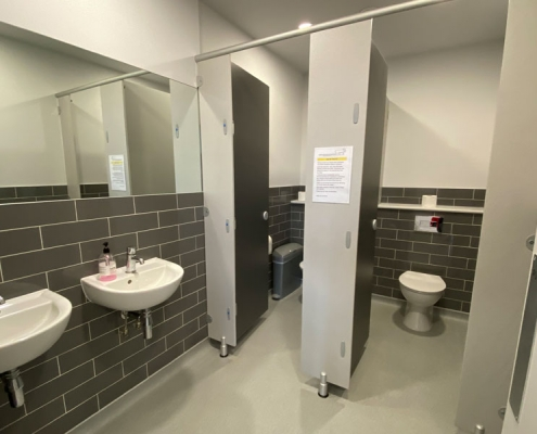 Lympne Harry Margary Hall Ladies toilet facilities