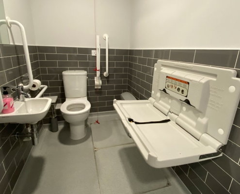 Lympne Harry Margary disabled and baby change toilet facilities